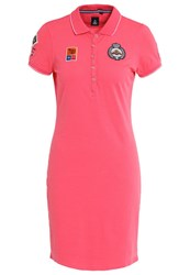 Gaastra Catug Jersey Dress Carmine Rose