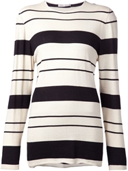 Denis Colomb Striped Boyfriend Sweater