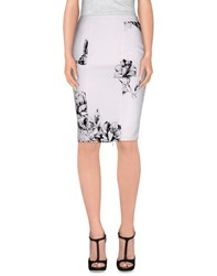 Blumarine Skirts Knee Length Skirts Women White