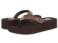 Yellow Box Africa Brown Women's Wedge Shoes