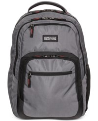 Kenneth Cole Reaction Contour Backpack In Grey