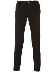 Incotex Skinny Fit Trousers Brown