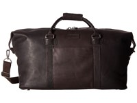 Kenneth Cole Reaction Colombian Leather I Beg To Duffel Brown Duffel Bags