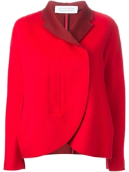 Gianluca Capannolo Fitted Jacket Red