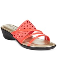 Easy Street Shoes Tuscany By Easy Street Atessa Wedge Sandals Women's Shoes