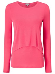 Phase Eight Dita Double Layer Top Lobster Pink