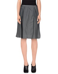 Noa Noa Skirts Knee Length Skirts Women Grey