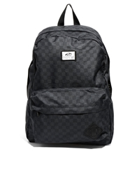 Old Skool Ii Logo Backpack In Checkerboard Black