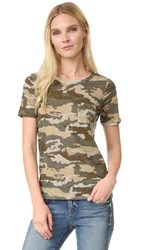 Chaser Crew Neck Short Sleeve Pocket Tee Camo