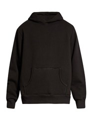 Simon Miller Mazunte Hooded Cotton Sweatshirt Black