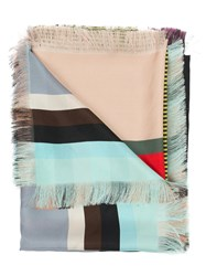 Pierre Louis Mascia Pierre Louis Mascia Striped Scarf Multicolour