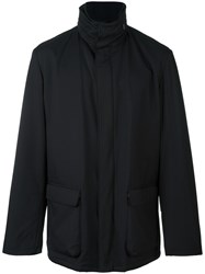 Loro Piana 'Winter Voyager' Coat Blue