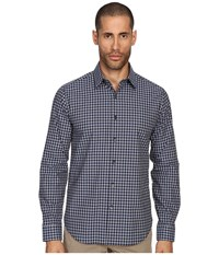Theory Sylvain Webb Theorist Check Men's Clothing Blue