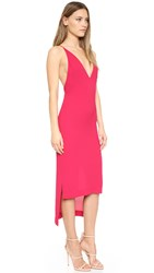 Dion Lee Fine Line Cami Dress Cherry