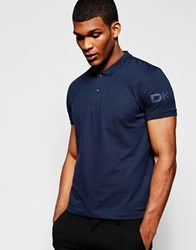Dkny Polo Shirt Sleeve Logo Navy