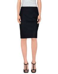 Bouchra Jarrar Skirts Knee Length Skirts Women Black