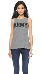 Nlst Army Tank Top Heather Grey