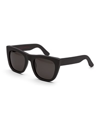 Super By Retrosuperfuture Gals Thick Frame Sunglasses Black