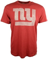 '47 Brand Men's New York Giants Logo Scrum T Shirt Red