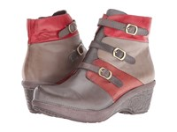 Spring Step Bohani Grey Women's Pull On Boots Gray