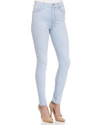 7 For All Mankind The High Waisted Skinny Fit Denim Jeans Blue