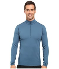 Arc'teryx Phase Ar Zip Neck Long Sleeve Legion Blue Men's Clothing Navy