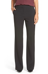 Ellen Tracy Slim Bootcut Trousers Regular And Petite Black