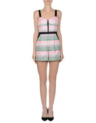 Milly Short Overalls Pink
