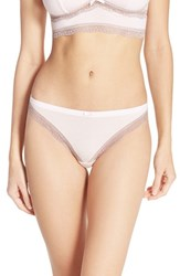 Women's Felina 'Inviting' Lace Trim Thong 3 For 30
