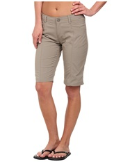 Royal Robbins Discovery Bermuda Light Taupe Women's Shorts