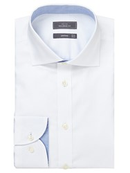 John Lewis Royal Oxford Tailored Fit Shirt White