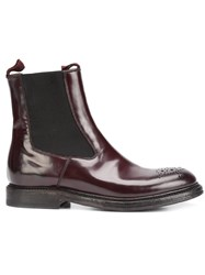 Silvano Sassetti 'London' Boots Red