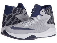 Nike Zoom Devosion Wolf Grey Loyal Blue Game Royal Pure Platinum Men's Basketball Shoes Gray