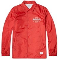 Neighborhood Brooks Jacket Red And White