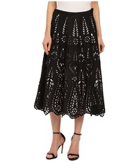 Kas Kaera Skirt Black White Women's Skirt