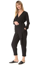 Hatch The Emmanuelle Jumpsuit Black With Black