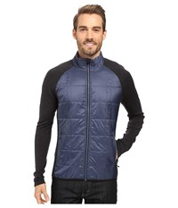 Smartwool Propulsion 60 Jacket Dark Blue Steel Men's Jacket Black