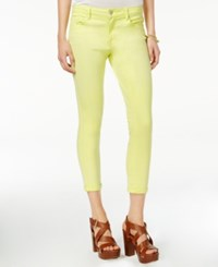 Jessica Simpson Forever Roll Crop Skinny Jeans Canal Blue