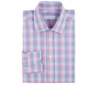Etro Plaid Dress Shirt Pink