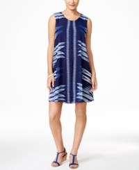 Styleandco. Style And Co. Printed Sleeveless Dress Only At Macy's Aztec Flutter