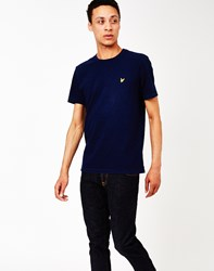 Lyle And Scott T Shirt Navy