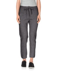 Douuod Trousers 3 4 Length Trousers Women Grey