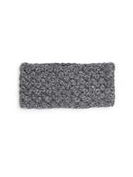 Portolano Caos Knit Headband Grey