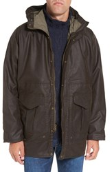 Filson Men's All Season Waterproof Hooded Raincoat