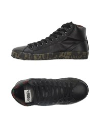 Springa Footwear High Tops And Trainers Men Black