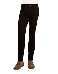 Bugatti Five Pocket Cotton Stretch Pants Black