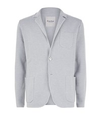 Hardy Amies Double Button Wool Cardigan Male Light Grey