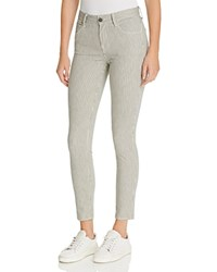 J Brand Mid Rise Skinny Jeans In Holloway Stripe