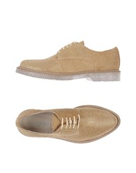 Fabrizio Chini Footwear Lace Up Shoes Women Sand