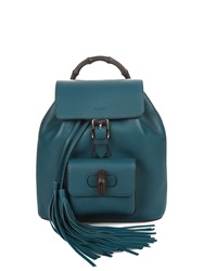 Gucci Bamboo Mini Leather Backpack